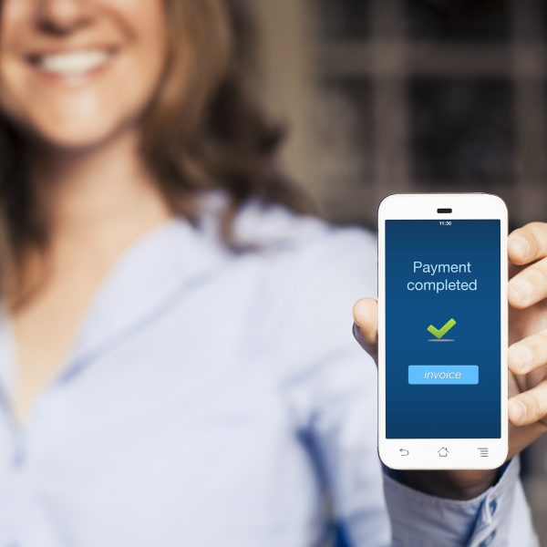 Payment completed online