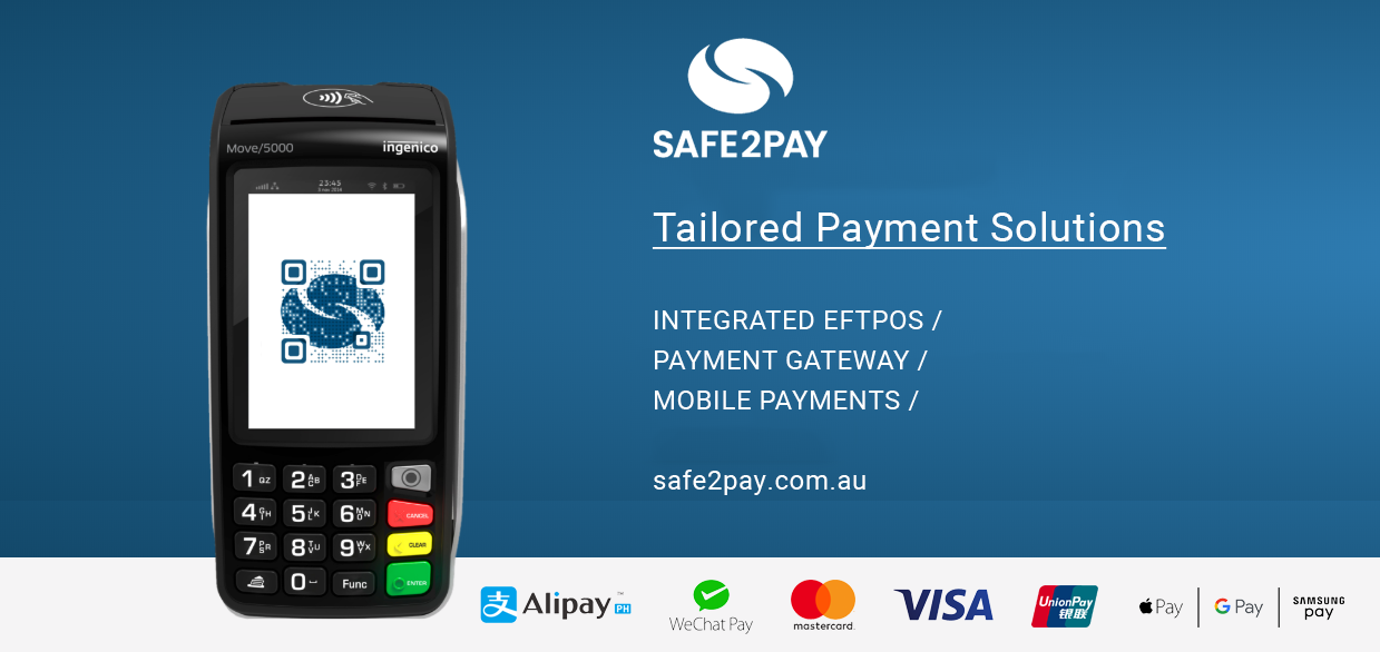 Safe2Pay - Secure Payment Services Australia | Credit Card