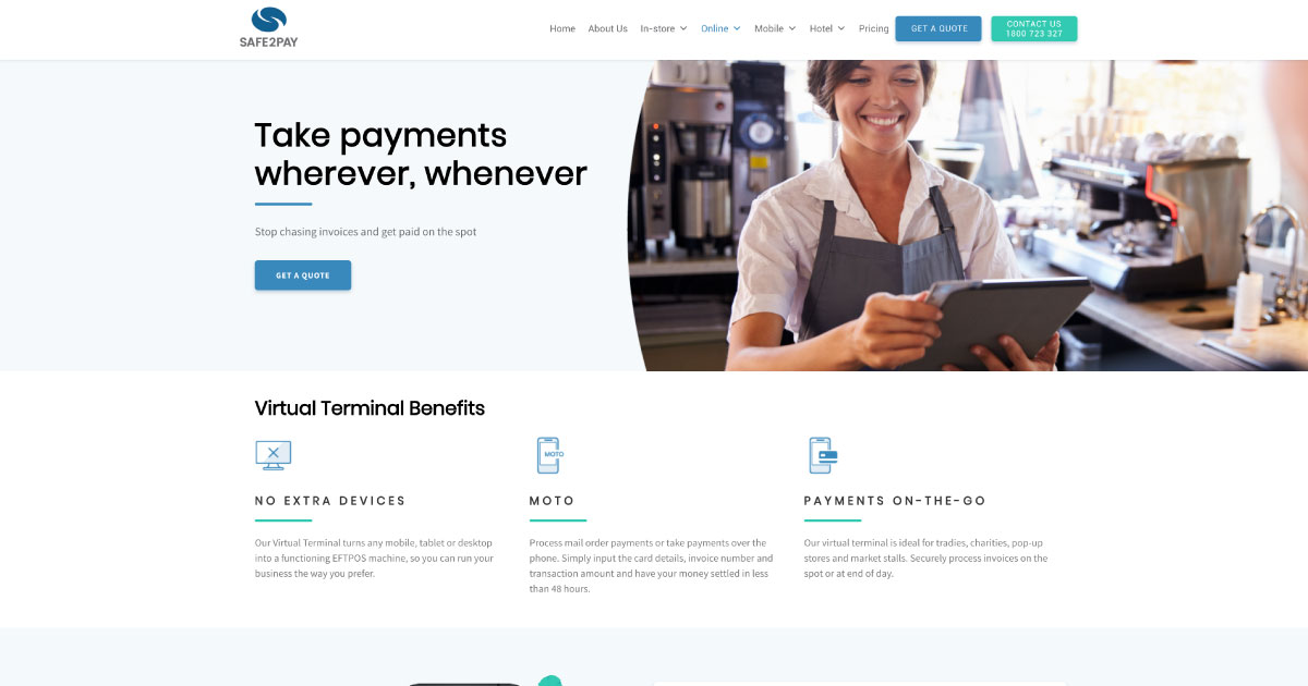 Virtual Terminal | Mobile Credit Card Payment Processing